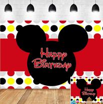 Mickey Backdrop