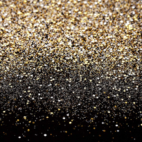 Gold and Black backdrop