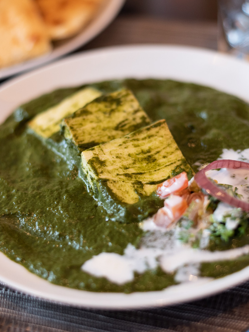 Spice Of America -Saag Paneer with Butte