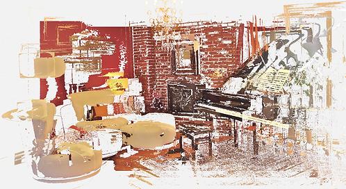 Room w piano