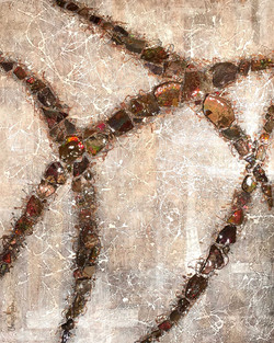 Ammolite Abstract