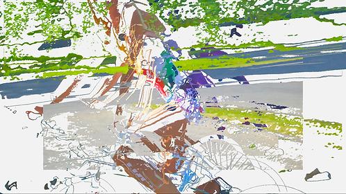 Abstractbikercolor