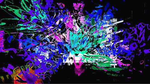 Flowerexplosionblue