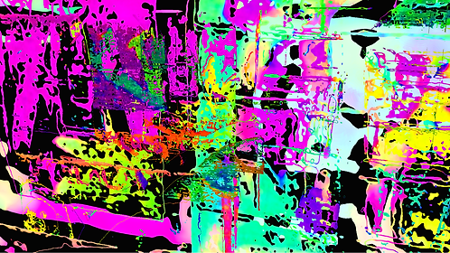 Abstractconglomerationpink