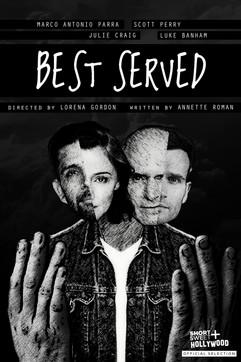 BEST SERVED Concept Poster 2