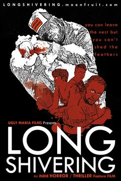 LONG SHIVERING Promotional Postcard Design