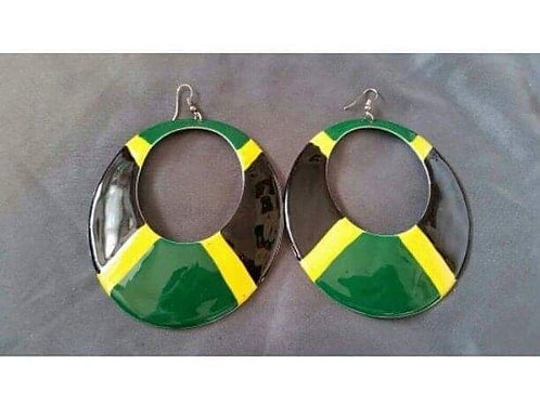 Jamaican Flag Hoops