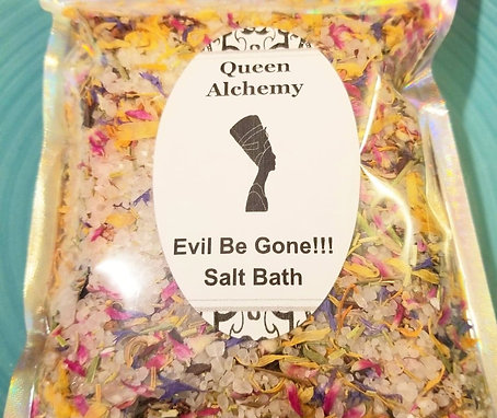 Evil Be Gone!!! Salt Bath