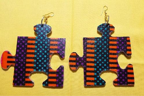 FABB Nehet Ankara Arrow Puzzle Handmade Earrings