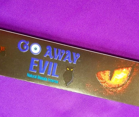 Go Away Evil Incense