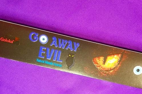 Go Away Evil Incense