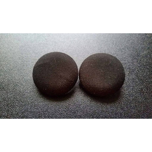 FABB Black Button Studs
