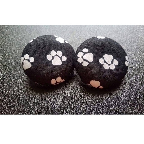 FABB Marley Paw Button Studs #2