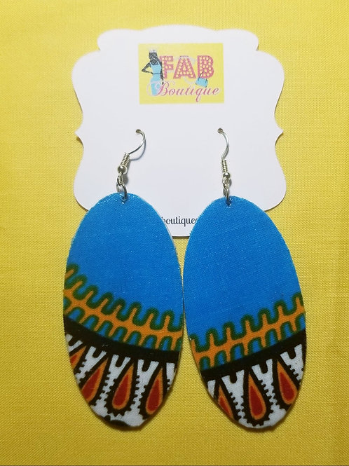 FABB Native Sky Oval Earrings