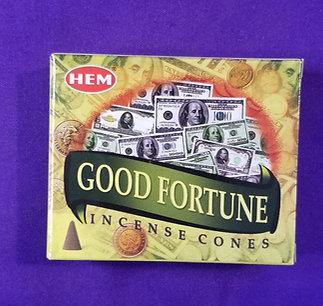 Good Fortune Incense Cone