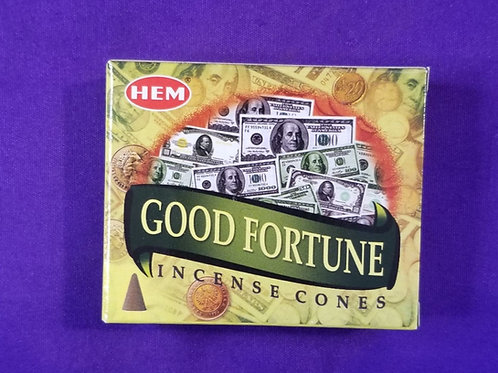 Good Fortune Incense Cone
