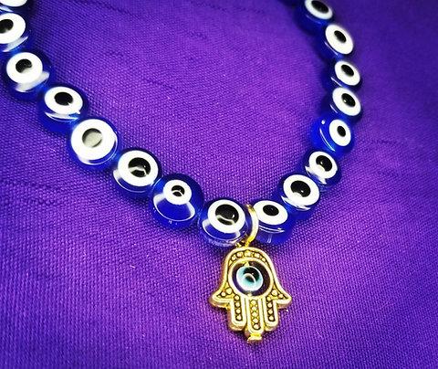 Hamsa Evil Eye Protection Bracelet