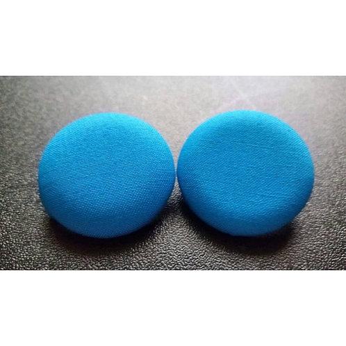 FABB Blue Button Studs