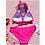Thumbnail: Pink & Gold Halter Bikini