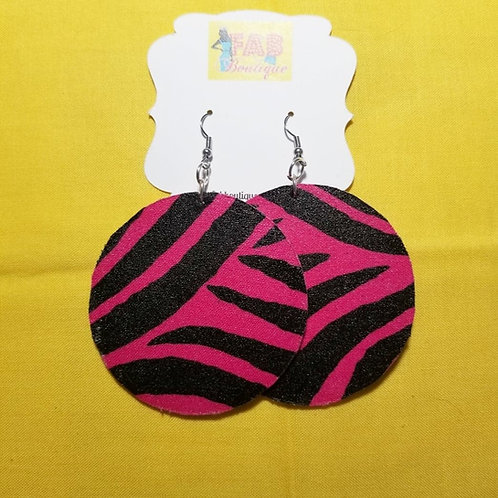 FABB Pink Zebra Circles