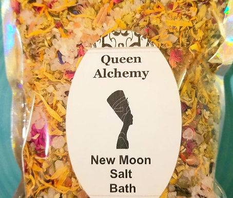 New Moon Salt Bath