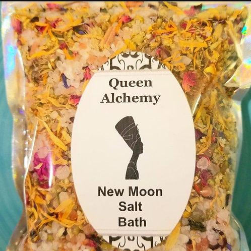 New Moon Salt Bath
