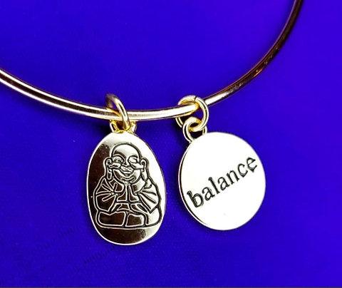 King Neeco's Golden Affirmation Charm Bracelets