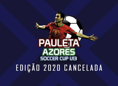PAULETA AZORES SOCCER CUP 2020 - CANCELADO