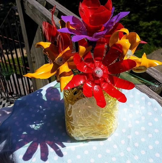 Recycled Bottle Flowers - Sun Flare.jpg