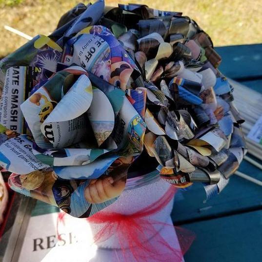 My game informer wedding bouquet