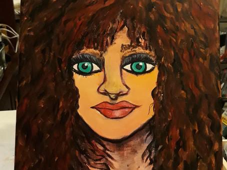 Art + Work + Living Painting Challenge