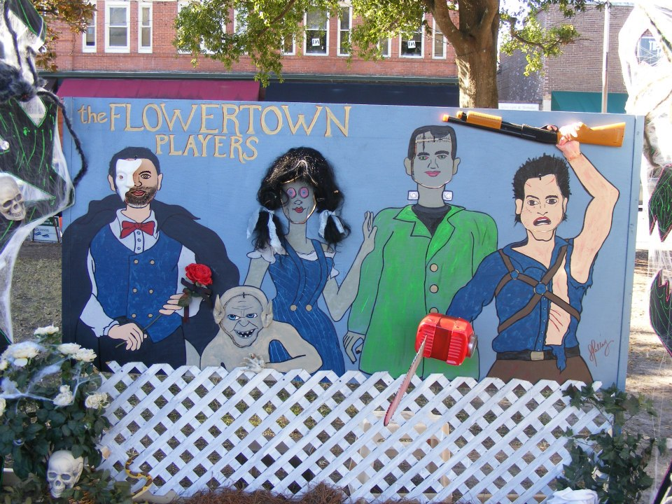 2012 Scarecrows on the Square created for The Flowertown Players. The one that started it all...