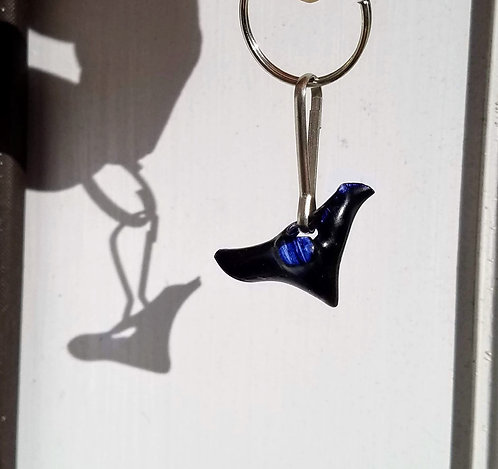 Shark tooth Key Chain