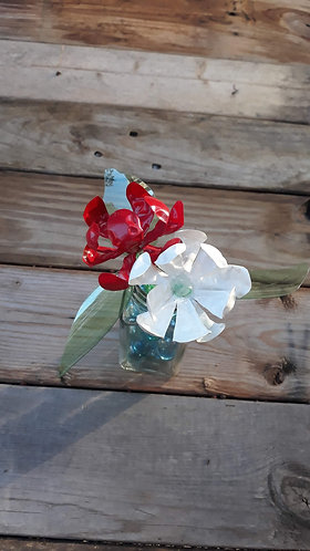 Red, White & Blue Bottle Bouquet