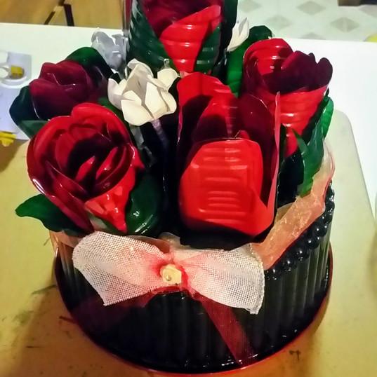 Cake walk bouquette