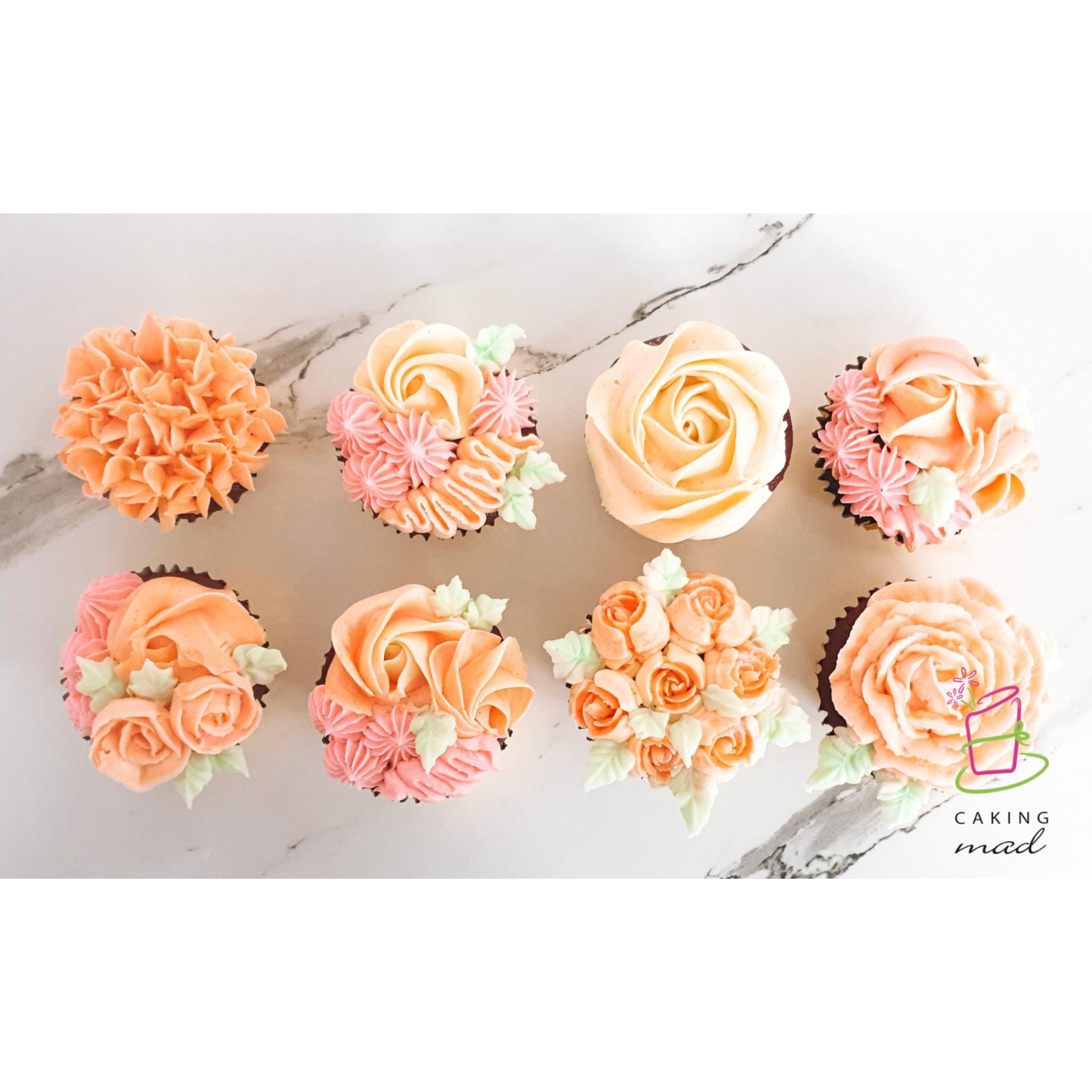 Buttercream Piping Cupcake Class
