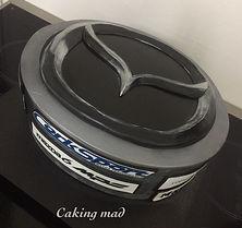 Mazda Logo Cake