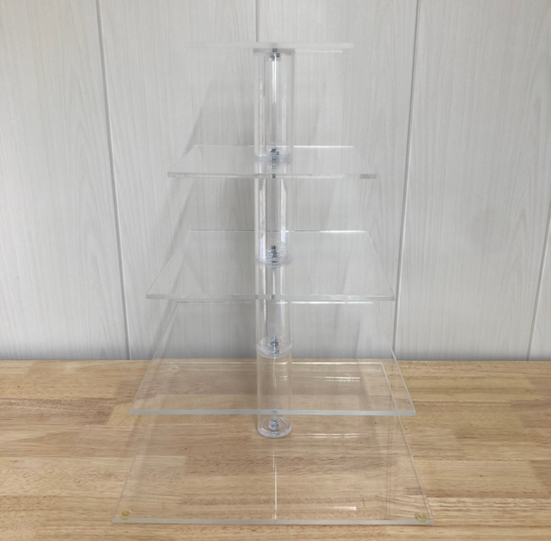 Acrylic Square Cupcake Stand (5 tiers)