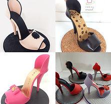 Edible Fondant High Heel Shoe Cake Topper