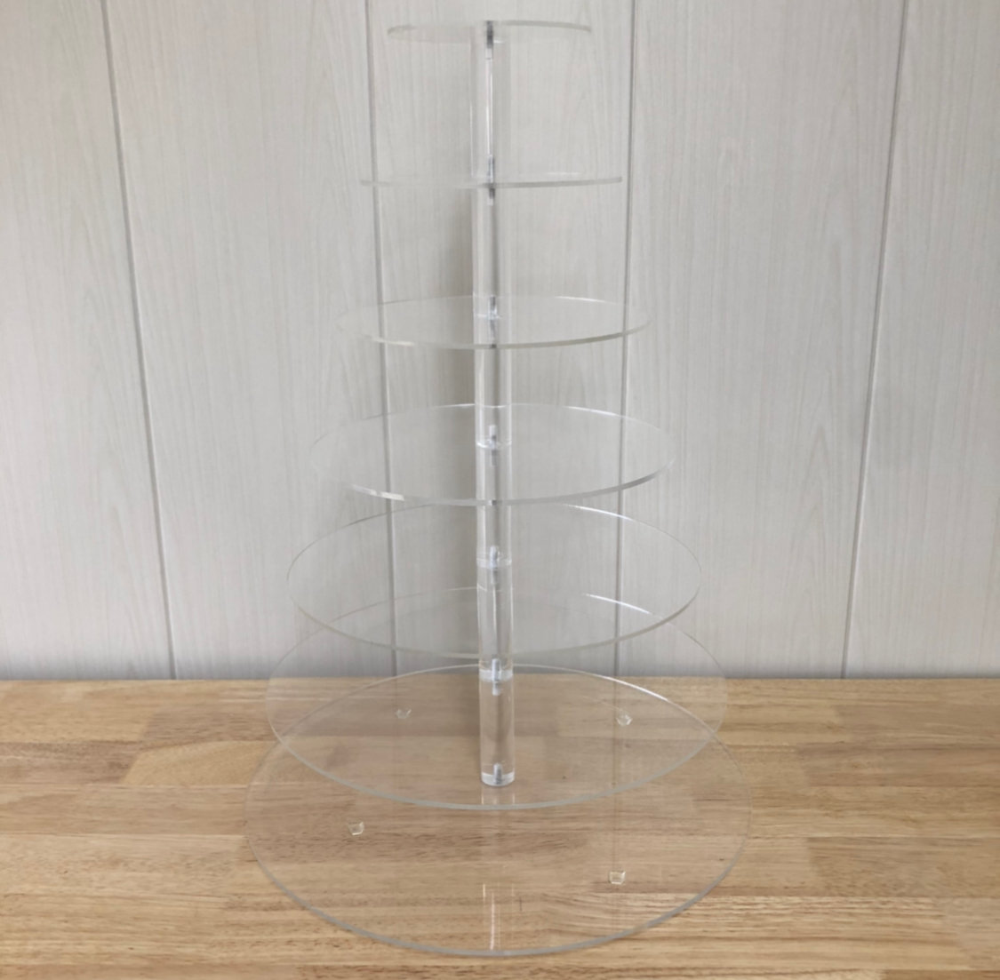 Acrylic Round Cupcake Stand (7 tiers)