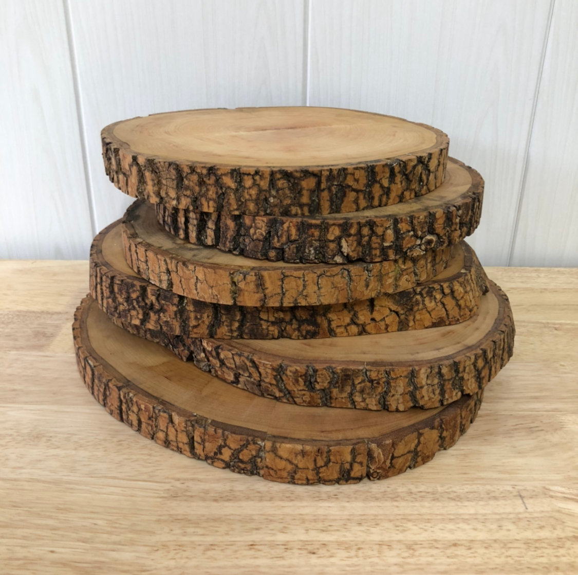 Round Wood Slices