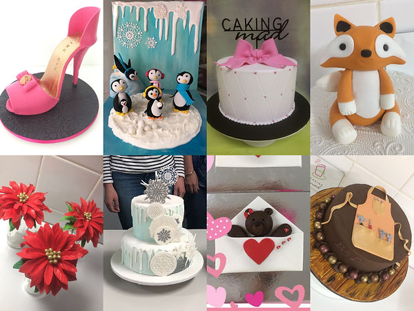 Cake Decorating Classes Caking Mad