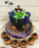 Witch Cauldren Cake