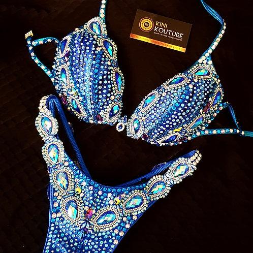 Sapphire Blue Stage Bikini