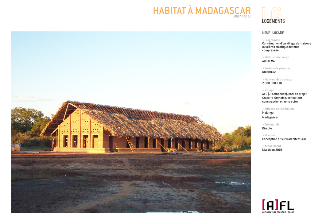 HABITAT A MADAGASCAR