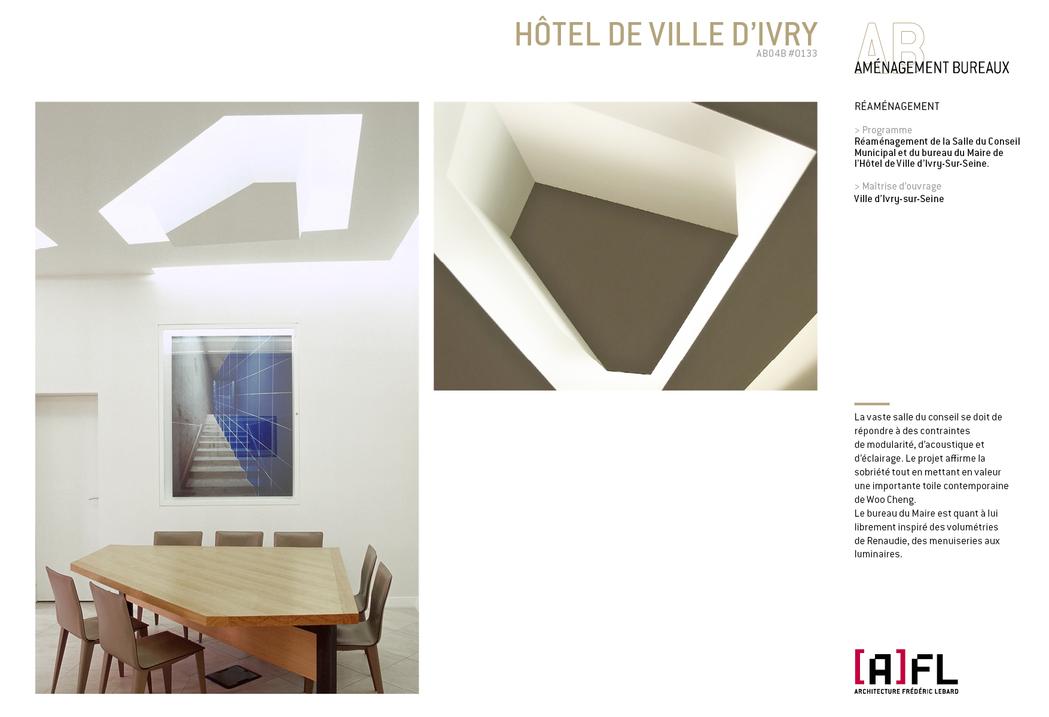 HÔTEL DE VILLE D'IVRY