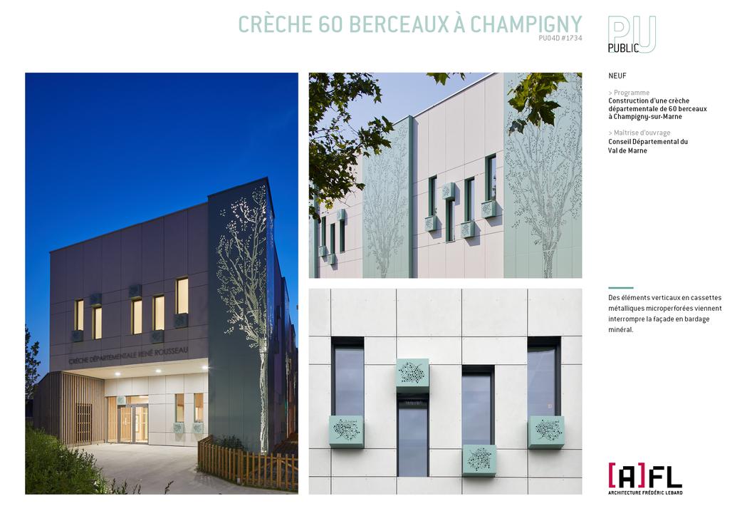CRÈCHE 60 BERCEAUX À CHAMPIGNY