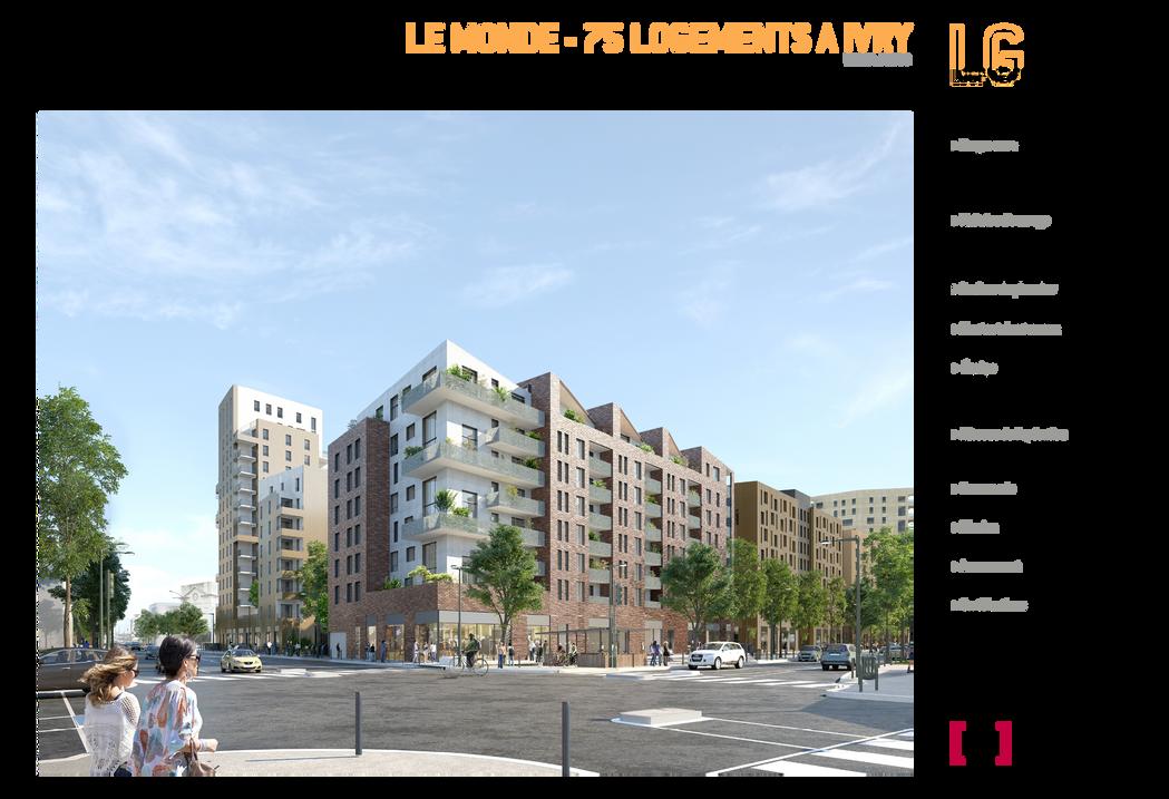 IVRY LE MONDE 75 LOGEMENTS