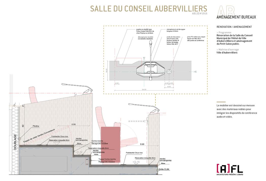 SALLE DU CONSEIL AUBERVILLIERS