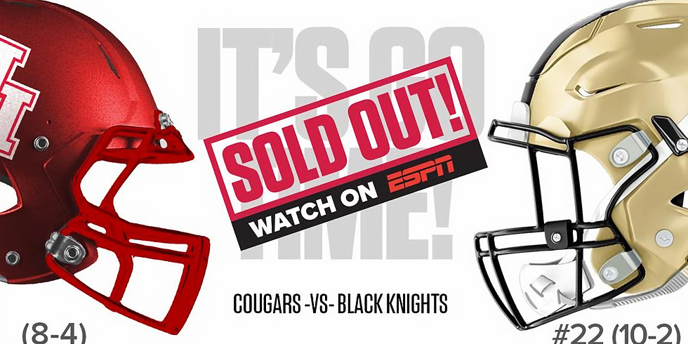 PURPLE HEART FOOTBALL - ARMED FORCES BOWL (SOLD OUT)